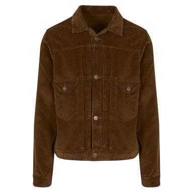Tan Cycle-Top Corduroy Jacket
