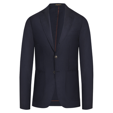 Blue Wool Unlined Blazer