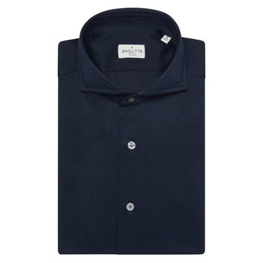 Navy Blue Cotton Sienna Shirt