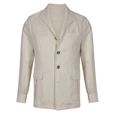 Stone Linen Teba Jacket