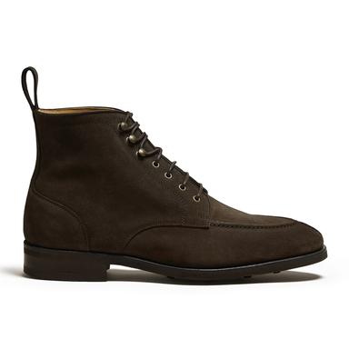 Gothem Dark Brown Suede Jumper Boot