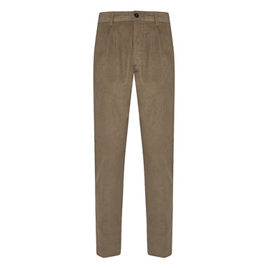 Camel Cotton Corduroy Pences Trousers