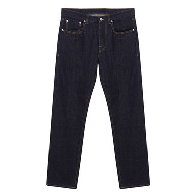 Dark Cotton Denim John Trousers