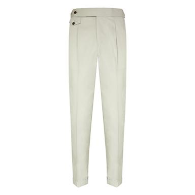 Beige Loro Piana Cotton Sport Trousers
