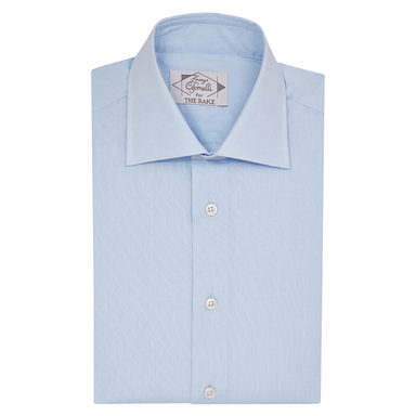 Light Blue Cotton Classic Shirt