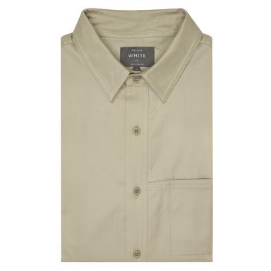Taupe Classic Collar Shirt