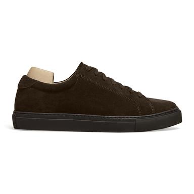 Dark Brown Suede Oaken Monochrome Sneaker