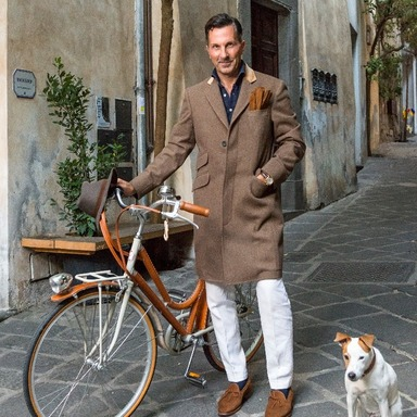 Brown Reinvented Covert Coat