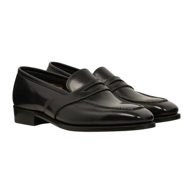 Black Calf Leather Sean II Loafer