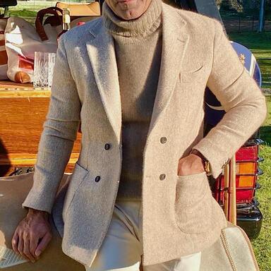 The Alexander Kraft Monte Carlo Beige Dog Walking Jacket