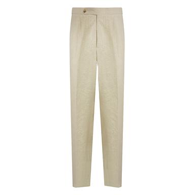 Cream Acetate Trousers
