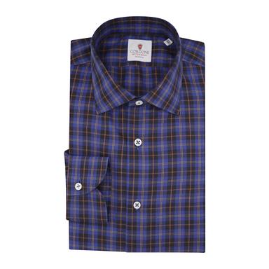Blue Flannel Grand Tartan Shirt